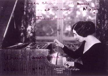 Wanda Landowska 1931 clavicembalo