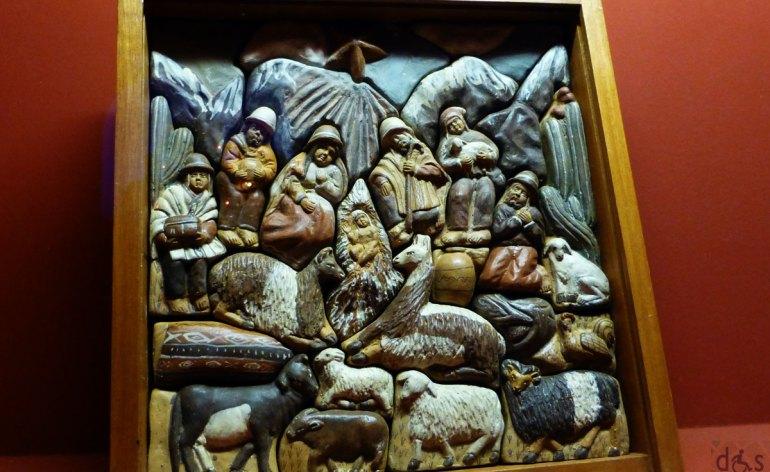 dal Perù la retlaba della natività - Mostra Internazionale dei Presepi all'Arena di Verona
