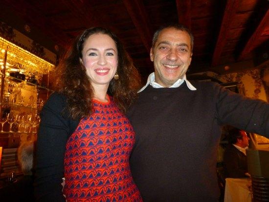 Diana e Gianni, i gestori osteria ponte pietra ristorante verona