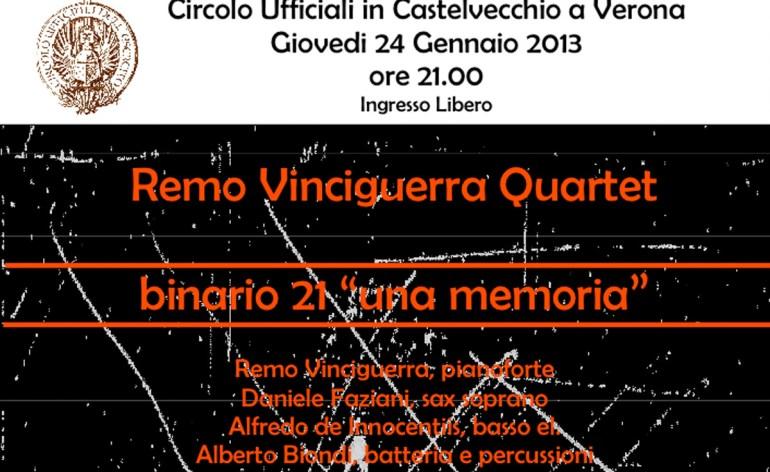 remo vinciguerra quartet circolo ufficiali verona