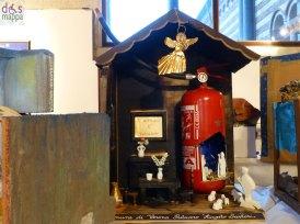 Estintore - Mostra concorso dei presepi con materiali riciclati a Palazzo della Ragione Verona