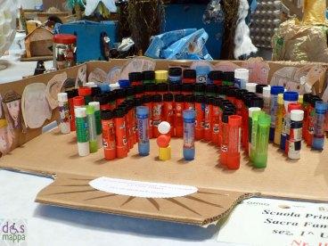 Colla - Mostra concorso dei presepi con materiali riciclati a Palazzo della Ragione Verona