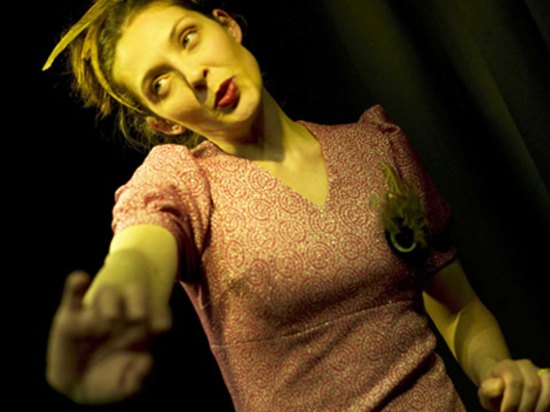 lorena senestro in madame bovary al teatro laboratorio di verona