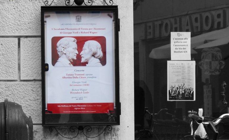 L'Accademia Filarmonica di Verona e i bicentenari di Giuseppe Verdi e Richard Wagner