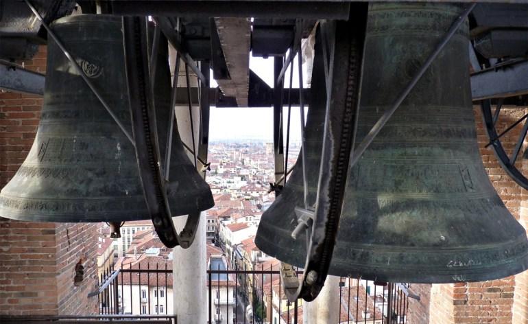 campane di torre dei lamberti a verona marangona e rengo