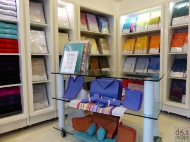 scheda accessibilità carrozzine negozio bossi biancheria per abitare via roma verona