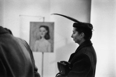 Mostra di René Burri a Verona - Mostra di Picasso, Palazzo Reale, Milano, 1953