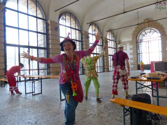 clown donatori volontari di sorrisi verona gran guardia
