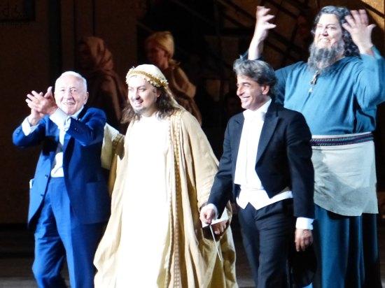 La prima del Nabucco all'Arena di Verona - Festival del centenario 2013
