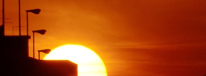 tramonto a verona