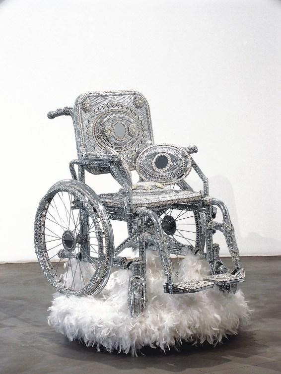Kristian Kozul arte carrozzina