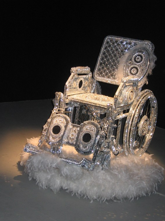Kristian Kozul wheelchair art