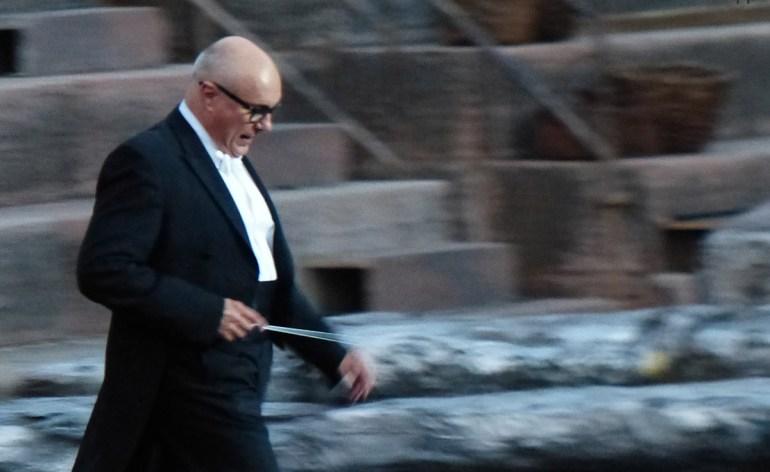 Direttore d'orchestra Prima della prima al Festival del Centenario: Il Trovatore, 7 luglio 2013, Arena di Verona
