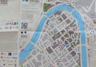 depliant con programma e cartina tocatì festival dei giochi di strada edizione 1013