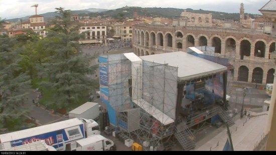 Palco festival show verona