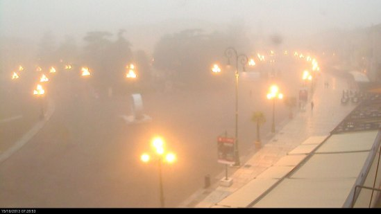 20131015-webcam-piazza-bra-verona-nebbia