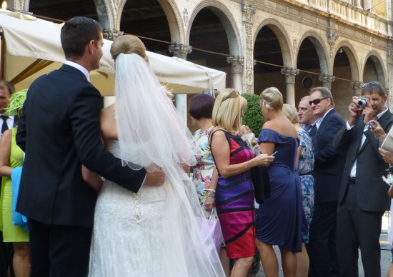 20120915 sposi verona piazza dei signori foto