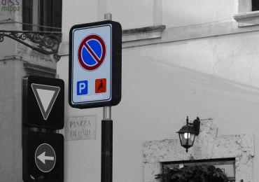 20131207 parcheggio disabili piazza duomo verona