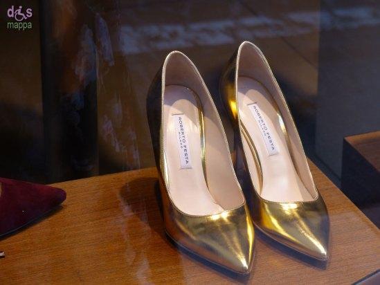 20131230 scarpe tacco oro roberto festa verona