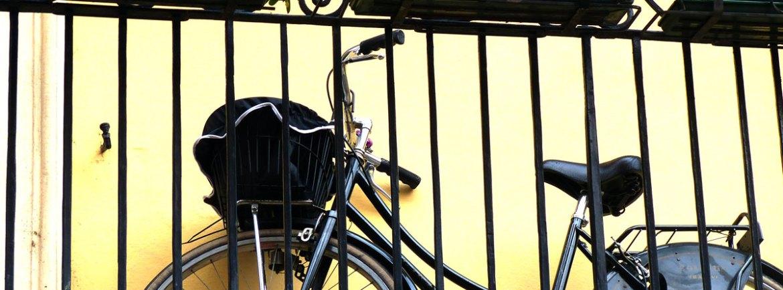 20131227 Bicicletta sul balcone Verona