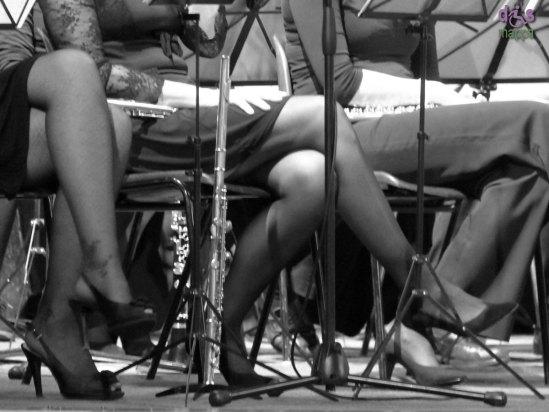 20140112 Gambe musiciste Big Band Verona