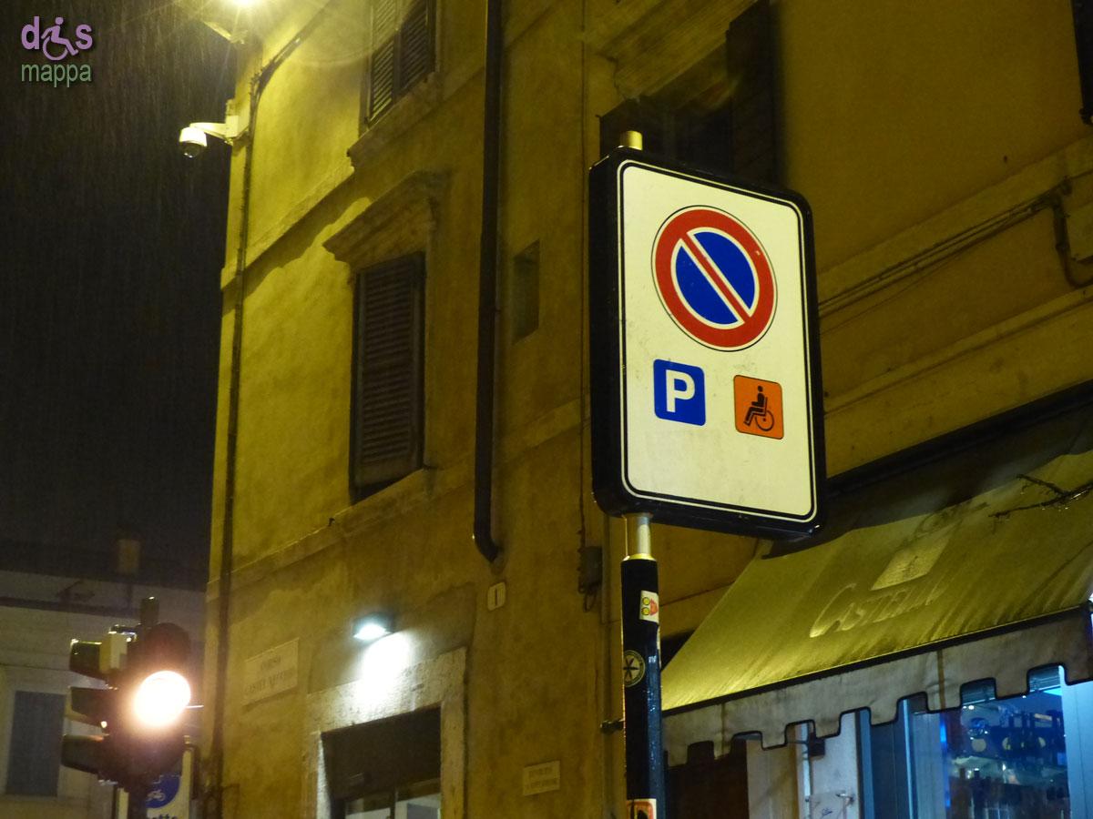 20140118 Parcheggio disabili Corso Castevecchio Verona
