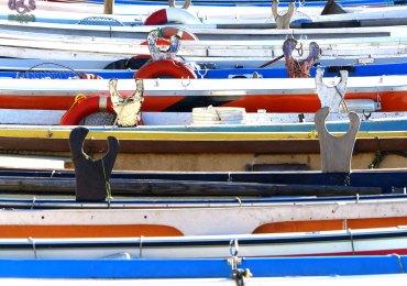 20131201 Barche nel porto di Bardolino Lago di Garda
