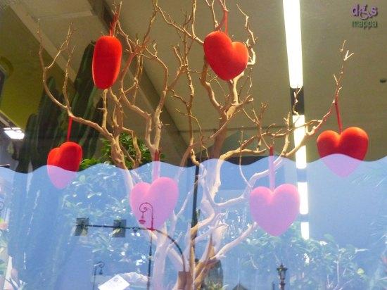 20140131 Decorazione cuori San Valentino Verona