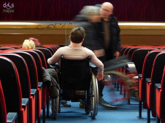 20140205 Donna disabile carrozzina AltreSequenze Cinema Stimate Verona