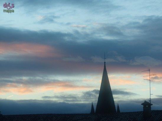 20140206 Cielo azzurro e nuvole rosa alba Verona