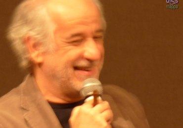 L'attore Toni Servillo, protagonista del film di Paolo Sorrentino La grande bellezza che ha vinto l'Oscar, durante l'incontro con gli attori al Teatro Nuovo di Verona lo scorso 7 novembre