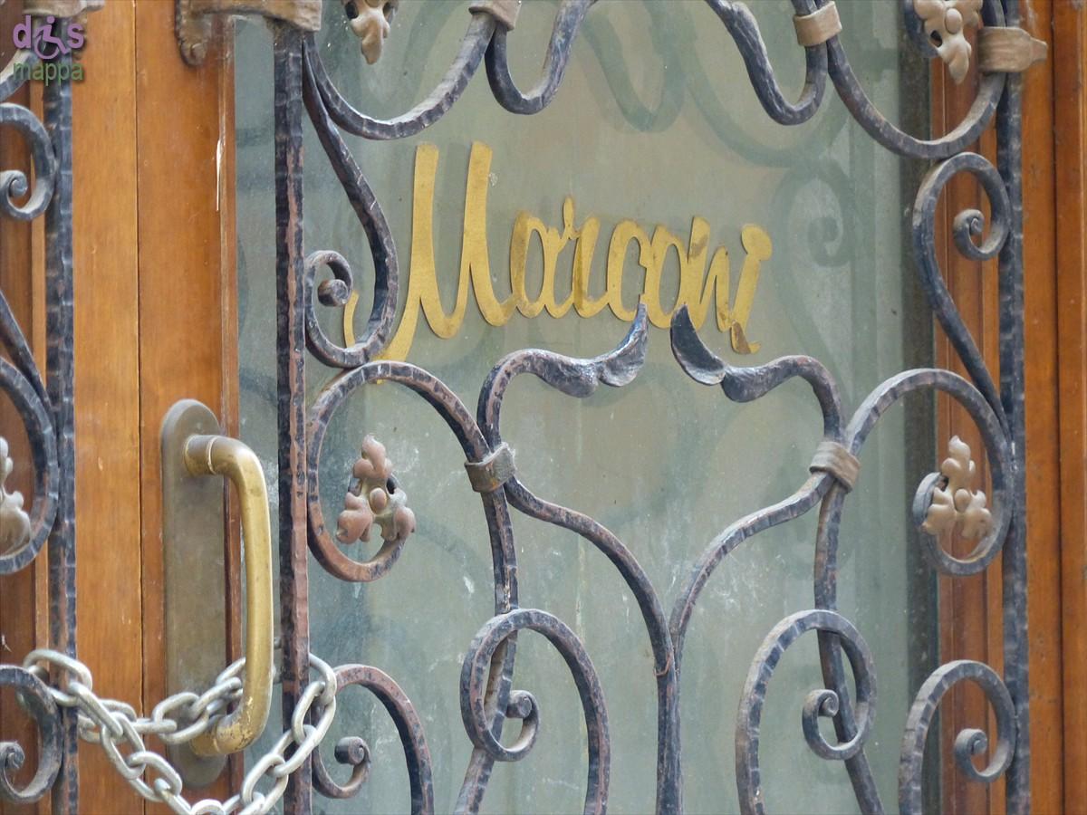 20140309 Lettering Ristorante Marconi via Fogge Verona