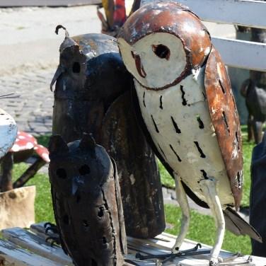 20140329 Animali ferro riciclato Verona in fiore gufo 357