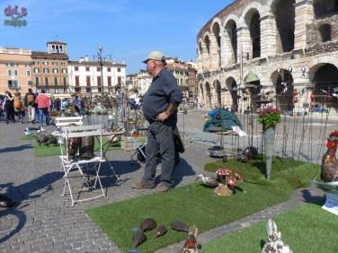 20140329 Animali ferro riciclato Verona in fiore uccellini 356