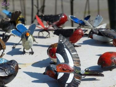 20140329 Animali ferro riciclato Verona in fiore uccellini 360