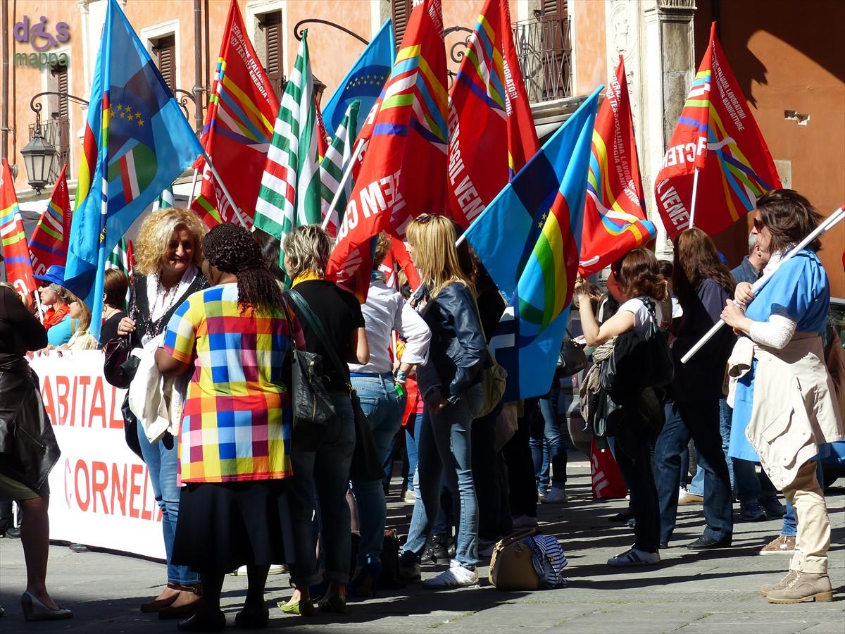 20140416 Manifestazione lavoratici Abital Corneliani Verona 803