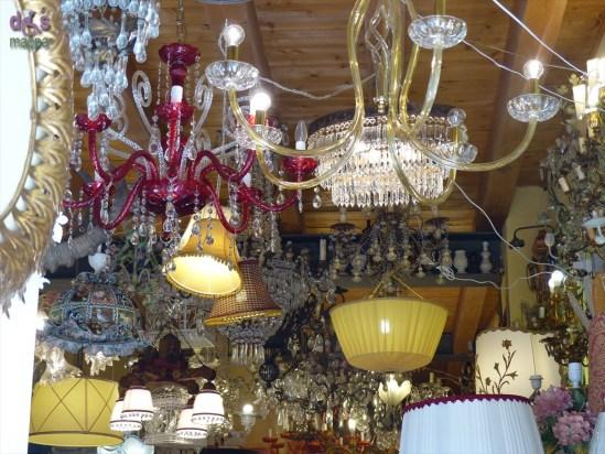 20140417 Soffitto negozi lampadari via San Paolo Verona