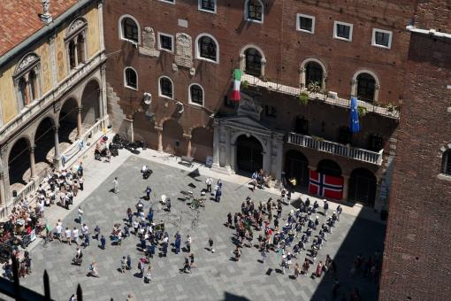 Il Festival Music from the North in Piazza dei Signori a Verona