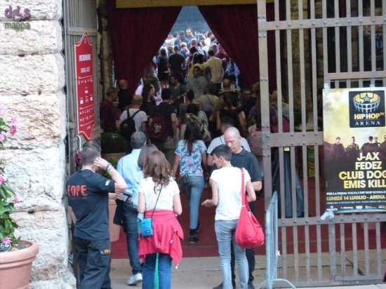 Il 14 luglio all'Arena di Verona il mondo dell'hip hop e il mondo della musica classica si incontrano per un evento musicale senza precedenti, lo spettacolo Hip Hop TV Arena.   Protagonisti di questo straordinario evento quattro grandi nomi del rap italiano, tra gli artisti che hanno maggiormente contribuito alla crescita del genere in questi anni e che riscuotono grandi consensi di critica e pubblico: Club Dogo, Emis Killa, Fedez e J-Ax.