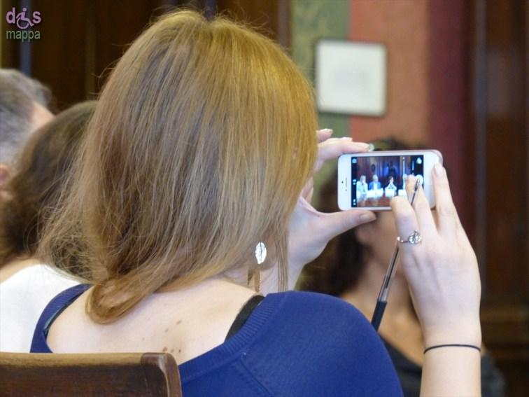 Foto alla Carlo Cecchi e la compagnia Marche Teatro alla Conferenza stampa del secondo spettacolo del 66° Festival Shakespeariano, La dodicesima notte, che debutta in prima nazionale mercoledì 16 luglio alle 21.15