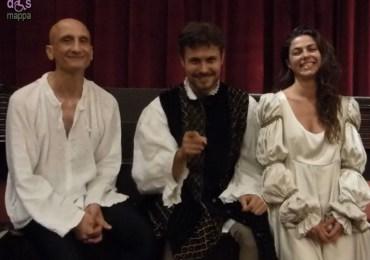 Gli attori Riccardo Maschi, Katia Mirabella e Mario Monopoli appassionati testimoni di accessibilità dopo il loro Romeo e Giulietta al Teatro Nuovo di Verona