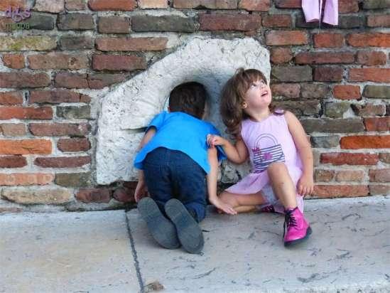 20140914 Bambini Ponte Pietra Verona