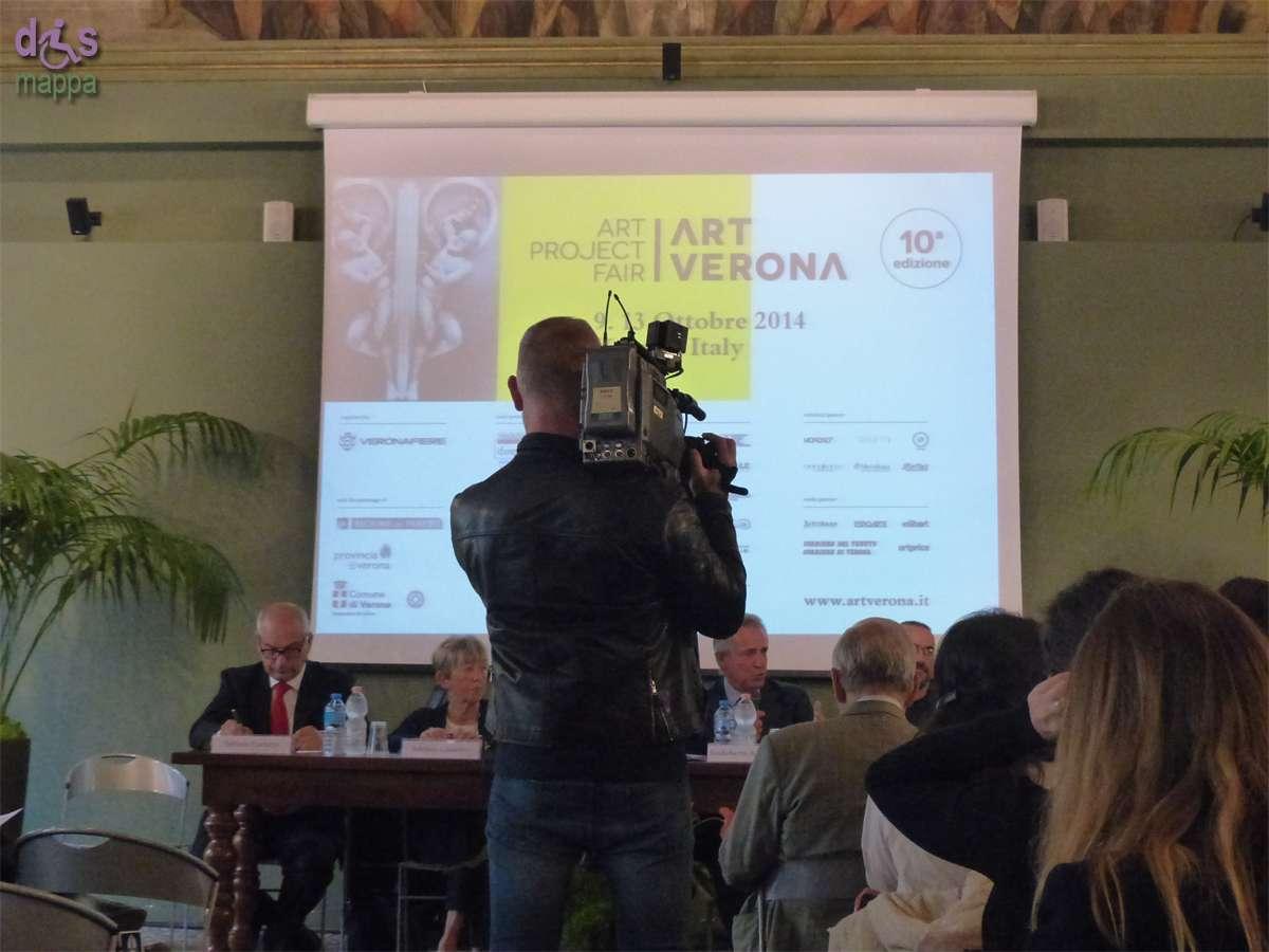 E' stata presentata ieri in Biblioteca Civica l'edizione 2014 di ArtVerona, in fiera dal 9 al 13 ottobre.