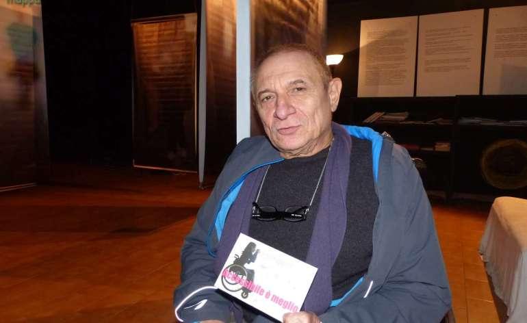L'attore e regista Alessandro Garzella testimone di accessibilità per dismappa Verona