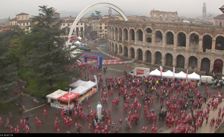 20141214 Christmas Run Webcam Verona