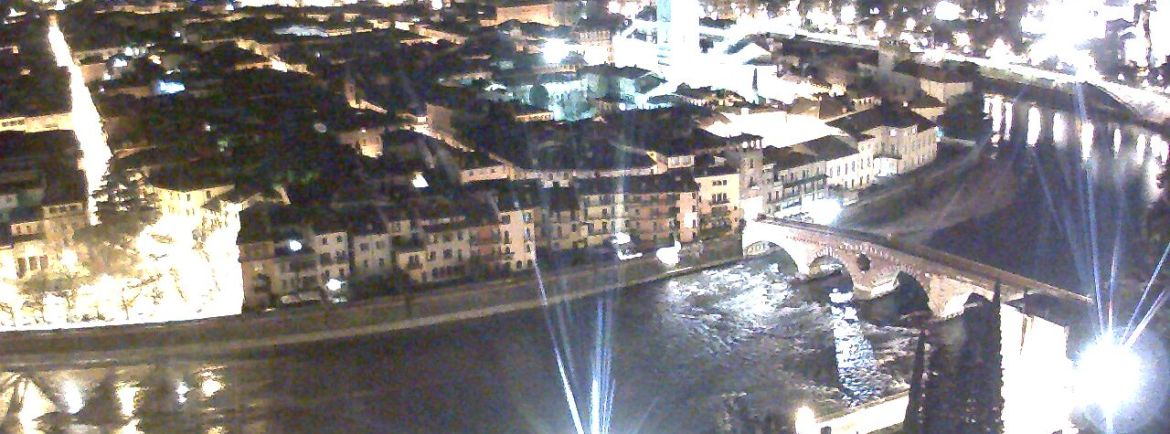 20141229 webcam Verona panoramica notturna