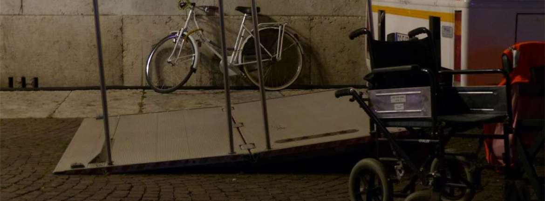 20140620 Carrozzina rampa Croce Verde Verona