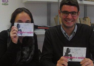 Matteo Scolari e Valentina Beghini, Presidente e Responsabile del progetto di ATS VeronaExpo, testimoni di accessibilità per dismappa