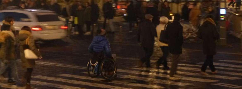 20150103 Disabile carrozzina Verona