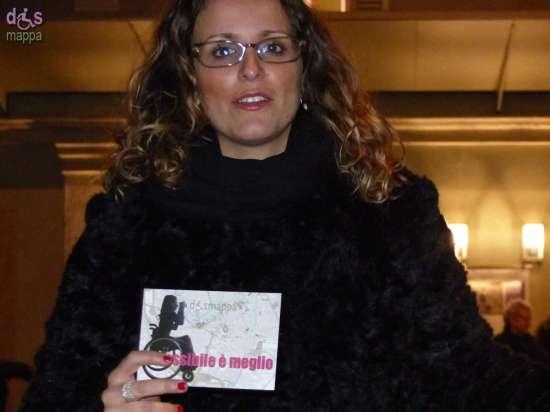 La giornalista Virginia Vinco testimone di accessibilità per dismappa